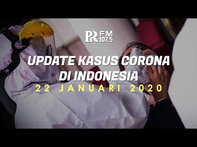 Update Kasus Corona di Indonesia 22 Januari 2021