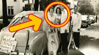 his Guy Was Watching His Parent's Wedding Video From 1953 And He Noticed A Startling Detail