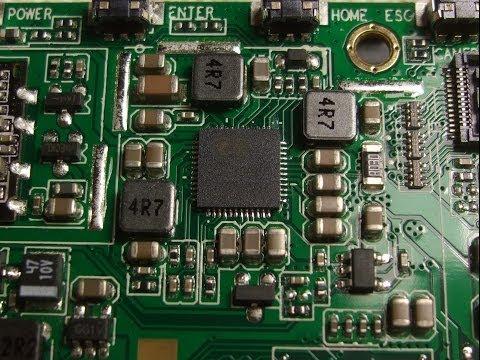 Перепайка контроллера заряда -