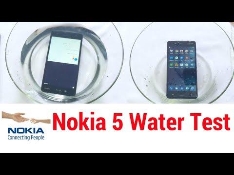 Nokia 5 - Water Test   PART - 1