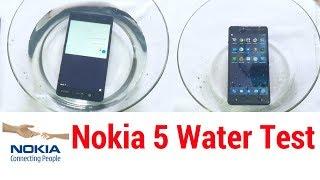 Nokia 5 - Water Test |  Splashproof Test | Waterproof Test | PART - 1