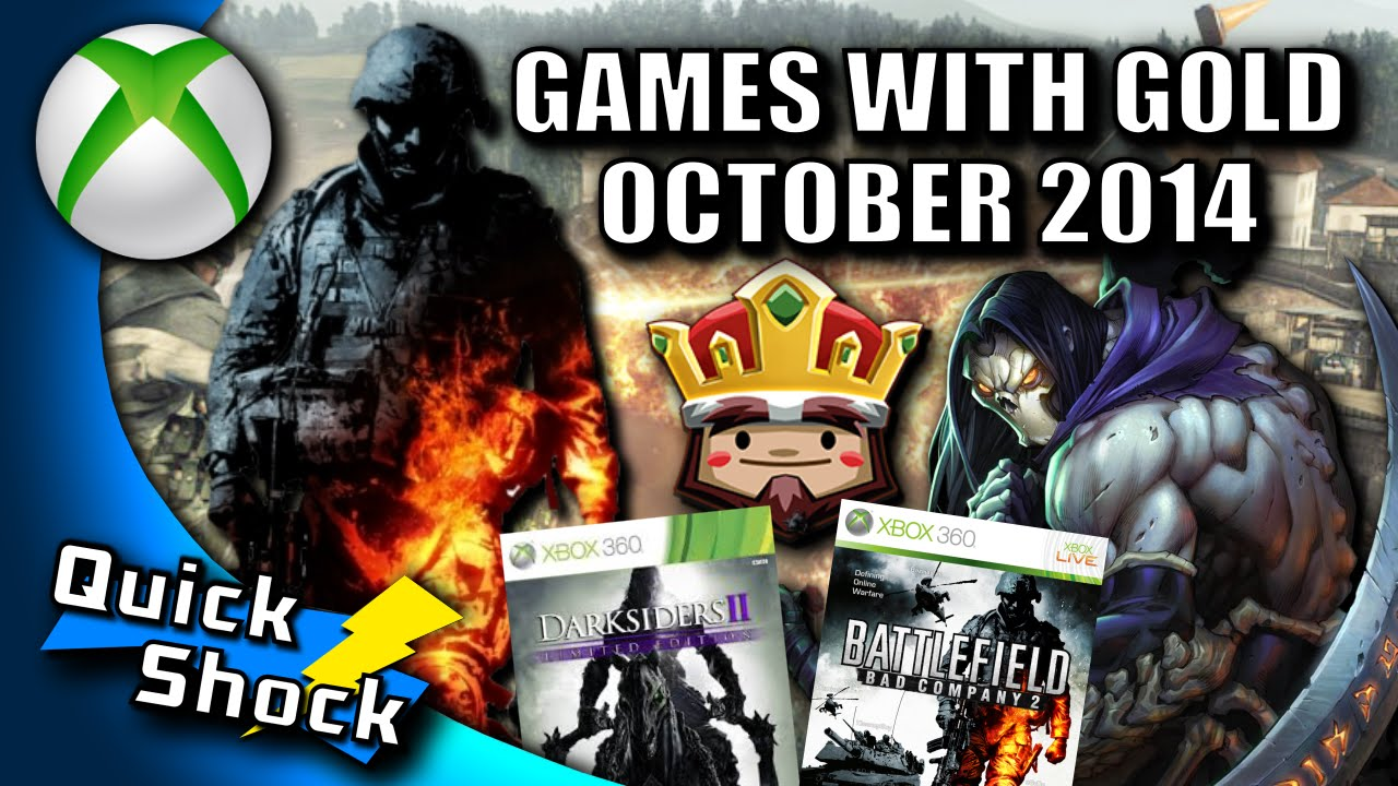 Games With Gold October 2014 Csn Youtube