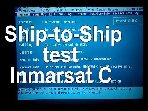 How To Do Ship To Ship Test Inmarsat C? | KARINA RYADOVICH 👫