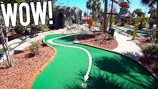 THAT MIGHT BE MY BEST MINI GOLF HOLE IN ONE EVER! - I HAVE NEVER DONE THIS