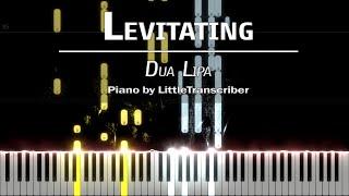 Dua Lipa - Levitating (Piano Cover) Tutorial by LittleTranscriber
