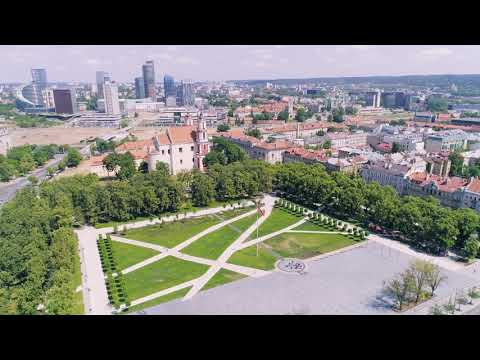 Culture Express - Lithuania architecture heritage observation flight