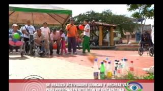 Actividades lúdicas y recreativas para personas en situación de discapacidad Guatapé