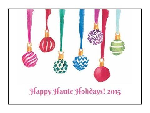 Happy Haute Holidays 2015: Black Friday Haul!