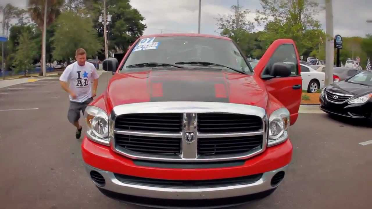 autoline 39 s 2007 dodge ram 1500 megacab walk around review test drive youtube. Black Bedroom Furniture Sets. Home Design Ideas