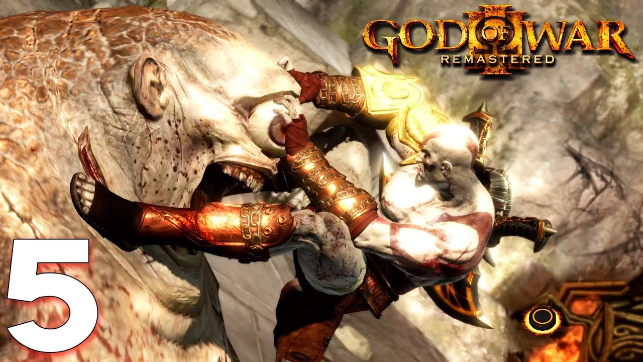 ខ្វេះគ្រាប់ភ្នែកបិសាចគីងគុង - God of War III #05 Khmer