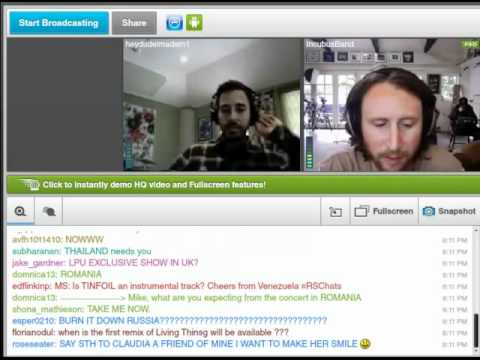 Videochat with Mike from Linkin Park and Mike from Incubus for LPSpain!