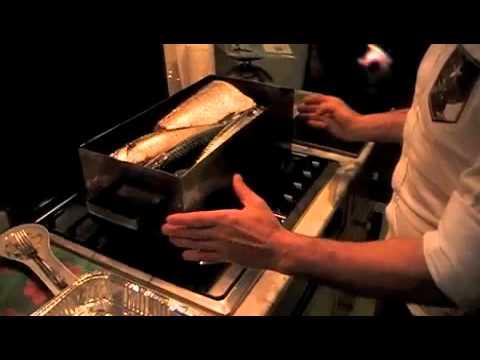 Affumicatura pesce masterbox youtube for Costruire affumicatore fai da te
