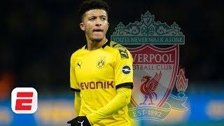Baixar Jadon Sancho to Liverpool would be 'fantastic,' but can it happen in January? | Premier League