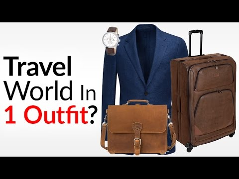 Travel World In ONE Outfit? | Perfect Traveling ESSENTIALS