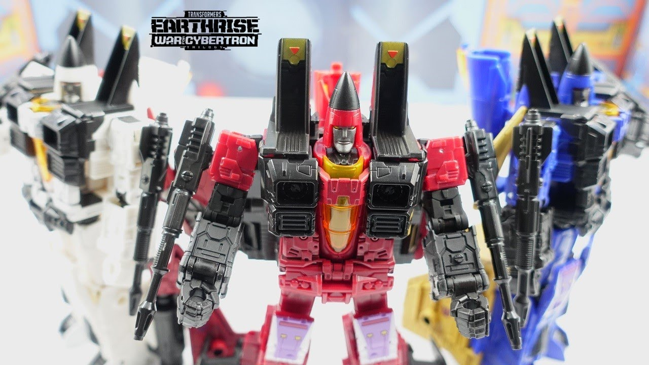 Transformers Earthrise Thrust Target Exclusive Review (4K) by bvzxa3