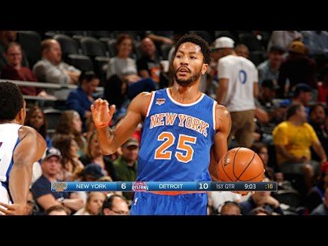 New York Knicks vs Detroit Pistons - Full Game Highlights   November 1, 2016   2016-17 NBA Season