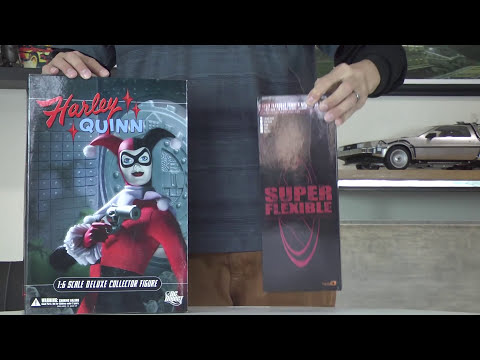 Custom PHICEN Harley Quinn Batman figure animated series NOT Hot Toys