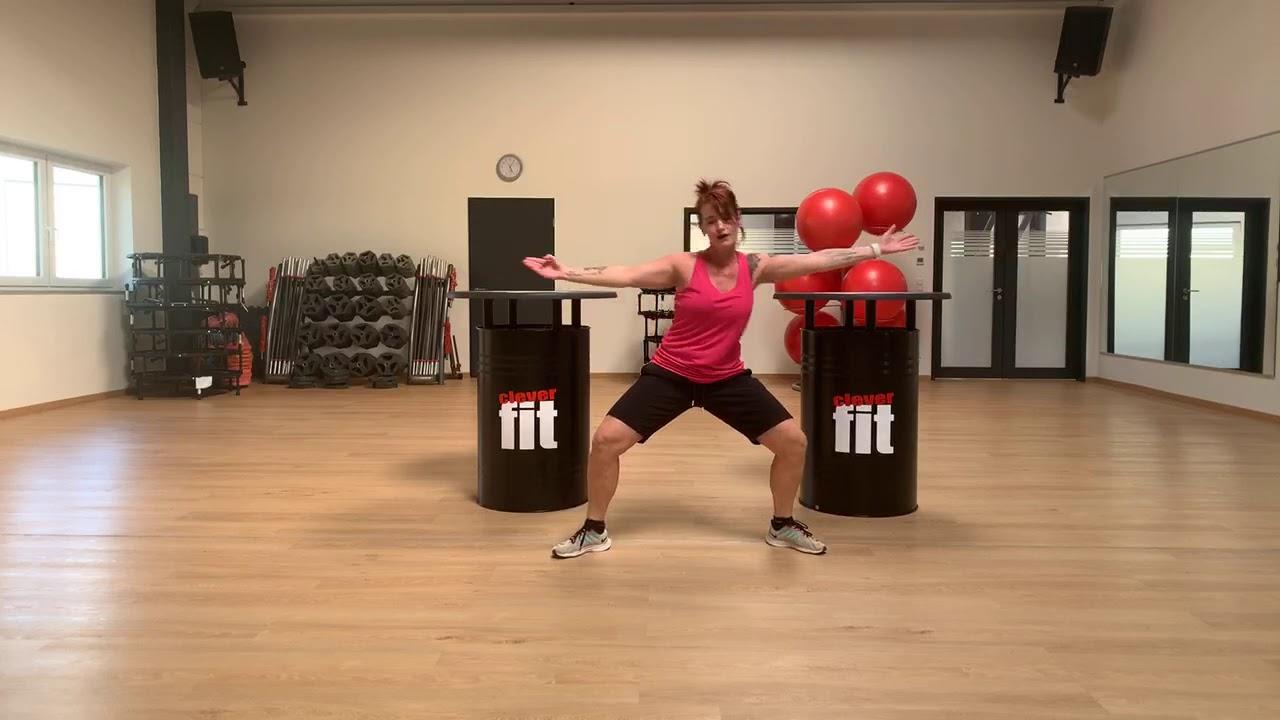 Fit Im Wohnzimmer Dance Aerobic Mit Tanja Youtube