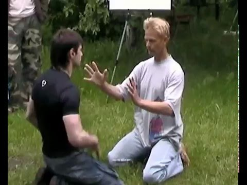 No Touch Master Challenges Martial Artist