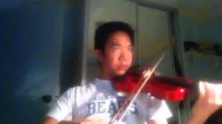 Traumerei (dreaming) violin