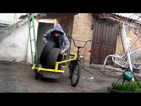 коляска прицеп  для велосипеда