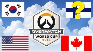 Finland Overwatch World Cup Team Is STACKED! Better Than Usa And Canada?
