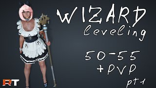 Black Desert Wizard/Witch Маг/Ведьма прокачка 50-55 + Wizard PVP