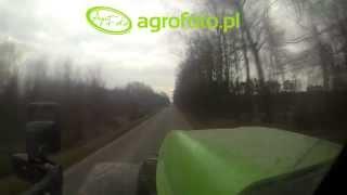 Deutz-Fahr Agrotron X-710 w trasie! Wiosna 2015