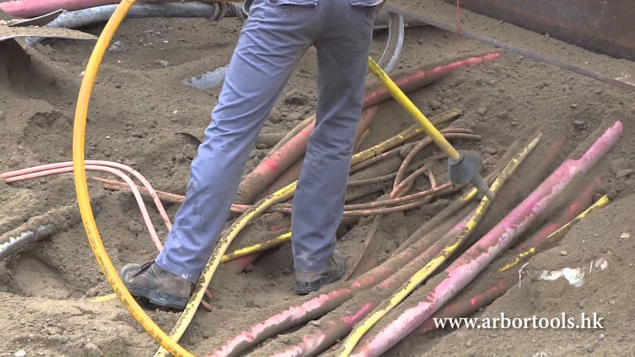 Air Spade For Utility Excavation In Hong Kong Youtube