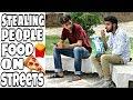 Stealing Strangers Food Prank   Prank in Pakistan