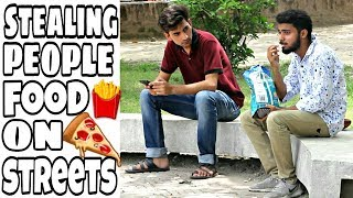 Stealing Strangers Food Prank | Prank in Pakistan