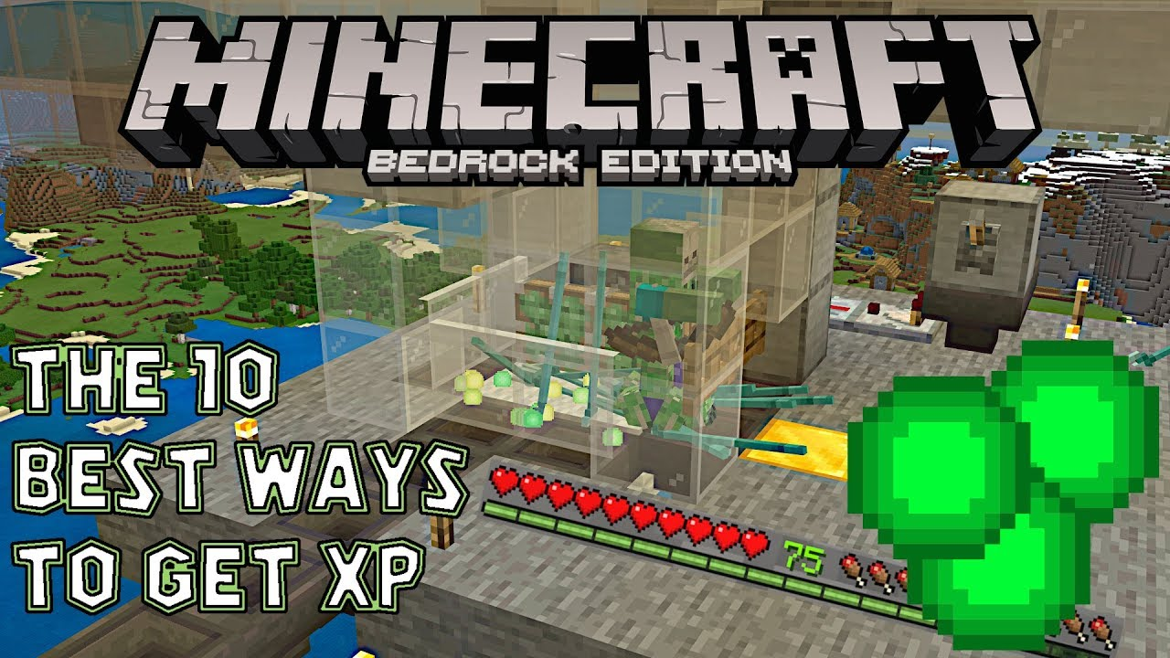The 9 best ways to gain experience in Minecraft Bedrock edition