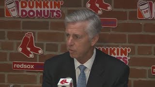 (FULL) Dave Dombrowski Red Sox news conference on John Farrell firing | ESPN