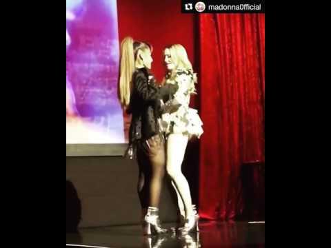"Madonna & Ariana Grande perfoming ""Music"" - Art Basel 2016 - Miami - 12/02/2016"