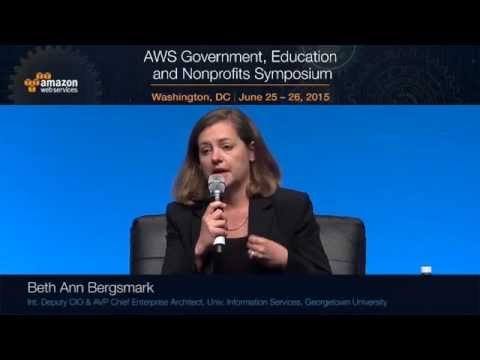 Women in Tech Panel: Women Executives from AWS, Georgetown University, Navy, SAP, and Congress