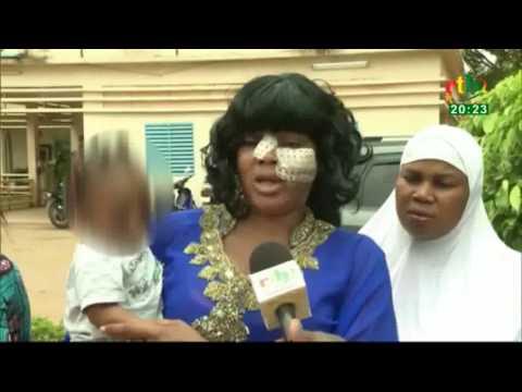 Adja Divine accuse la Police d'etre à l'origine de son agression par la foule