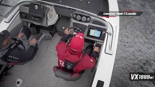 Ranger Aluminum VX1888WT On Water Footage