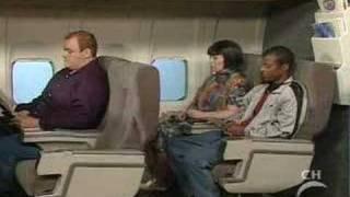 Ms Swan - Kicking on the plane