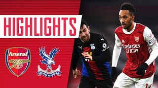 HIGHLIGHTS | Arsenal vs Crystal Palace (0-0) | Premier League