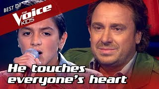 14-Year-Old TOUCHES everyone's HEART in The Voice Kids