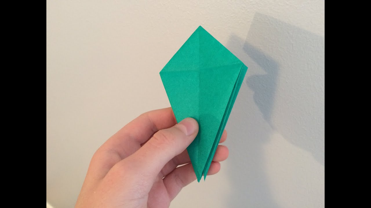 How To Make An Origami Bird Base Youtube