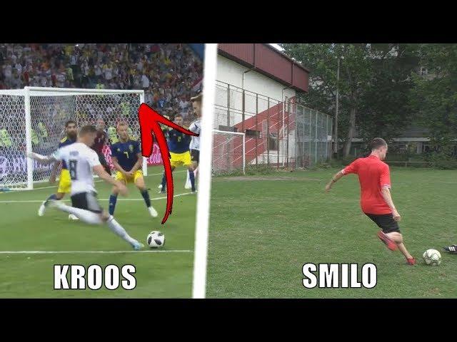 NAPODOBŇUJEM Gól Toni KROOS proti Švédsku!