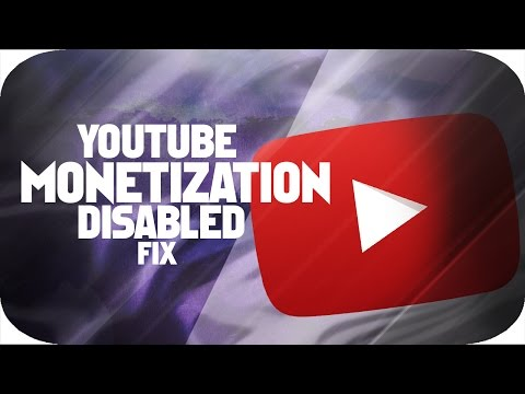 How to Fix monetization disabled [LATEST] [WORKING] 2016