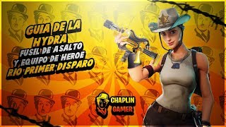 "GUIDE ""HIDRA + RIO FIRST DEPARTURE"" TOTALLY ROTA! / FORTNITE SAVE THE WORLD"