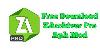 Gambar cover Download ZArchiver Pro Mod apk Last Version