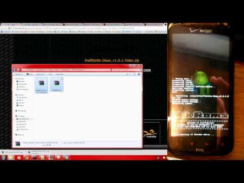 Install Ice Cream Sandwich (Android 4.0) on HTC Rezound