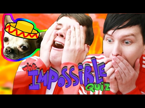 IS THIS THE END? Dan and Phil play THE IMPOSSIBLE QUIZ! #6