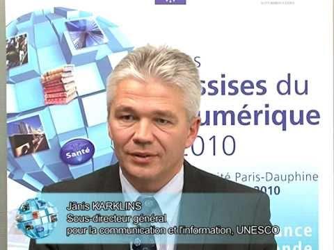 Assises du Numérique - Janis Karklins, UNESCO