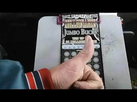 "Millionaire "" JUMBO"" ticket!  Merry Christmas to the Gambler Nation family 💜"