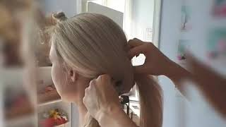 Свадебная прическа с косами